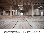 concrete structures are waiting ... | Shutterstock . vector #1219137715
