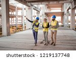 The owner of the company that has financial problems is trying to sell the old construction site. - stock photo