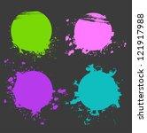 vector illustration of set of... | Shutterstock .eps vector #121917988