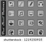 creative process vector web... | Shutterstock .eps vector #1219250935