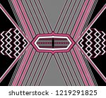 abstract seamless geometric... | Shutterstock . vector #1219291825