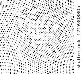halftone texture is black and... | Shutterstock .eps vector #1219308805