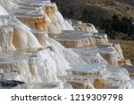 Mammoth Hot Springs Is A Large...