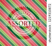 assorted christmas badge. | Shutterstock .eps vector #1219310872