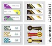 set of minimal covers design....   Shutterstock .eps vector #1219368565
