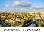 Roof top view of the Eastern neighborhoods of Rishon Le Zion a city in the center of Israel