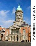 Dublin Castle in Ireland. - stock photo