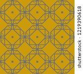 art deco seamless background.   Shutterstock .eps vector #1219390618