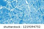 urban vector city map of... | Shutterstock .eps vector #1219394752