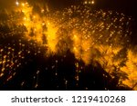 aerial night view of all saints'... | Shutterstock . vector #1219410268