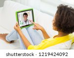 medicine  technology and...   Shutterstock . vector #1219424092