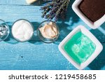 skin care and makeup product... | Shutterstock . vector #1219458685