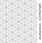 vector seamless texture. modern ... | Shutterstock .eps vector #1219467685