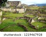 the ruins inside kuelap... | Shutterstock . vector #1219467928