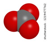 carbonate anion  chemical... | Shutterstock . vector #1219477762