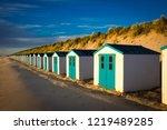 Texel. Little White Blue Houses ...