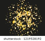 background with golden glitter  ... | Shutterstock .eps vector #1219528192