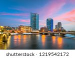 grand rapids  michigan  usa... | Shutterstock . vector #1219542172