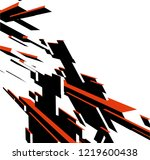 abstract architectural design | Shutterstock .eps vector #1219600438