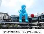 taichung taiwan   sep   7  2018 ... | Shutterstock . vector #1219636072