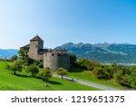 beautiful architecture at vaduz ... | Shutterstock . vector #1219651375