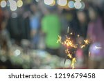 abstract motion blurred... | Shutterstock . vector #1219679458