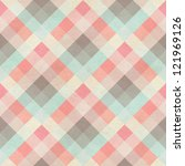 Seamless Checked Fabric Patter...