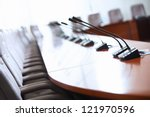 before a conference  the... | Shutterstock . vector #121970596