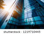 modern office building  | Shutterstock . vector #1219710445