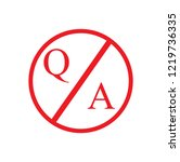 question and answer mark  help  ... | Shutterstock .eps vector #1219736335