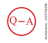 question and answer mark  help  ... | Shutterstock .eps vector #1219736338
