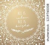 golden luxury christmas...   Shutterstock .eps vector #1219760338