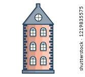 vector illustration with flat... | Shutterstock .eps vector #1219835575