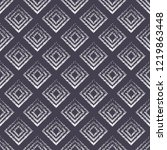 seamless pattern with geometric ... | Shutterstock .eps vector #1219863448