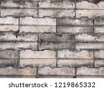 grunge old stone brick wall for ... | Shutterstock . vector #1219865332