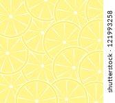 lemon fruit abstract background.... | Shutterstock . vector #121993258