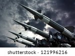 Antiaircraft Rockets On The...