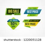 price tag. sale offer banner ... | Shutterstock .eps vector #1220051128