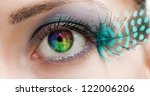 great big eye | Shutterstock . vector #122006206