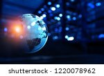 modern technology of sound | Shutterstock . vector #1220078962