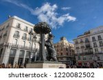 madrid  spain  november 2018 ... | Shutterstock . vector #1220082502