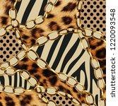 Stock photo leopard pattern leopard print animal print 1220093548