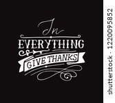 hand lettering in everything... | Shutterstock .eps vector #1220095852