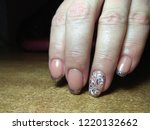 the manicurist excellently made ... | Shutterstock . vector #1220132662