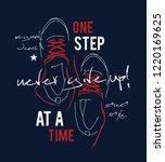 sneakers illustration for t... | Shutterstock .eps vector #1220169625