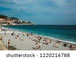 nice  france   june 26  2017 ... | Shutterstock . vector #1220216788