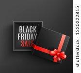 black friday sale vector... | Shutterstock .eps vector #1220222815