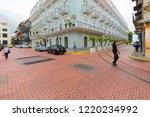 panama city september 25 2018... | Shutterstock . vector #1220234992