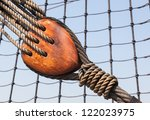 A Tall Ship Detail Showing 19t...