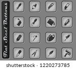 design tools vector web icons... | Shutterstock .eps vector #1220273785